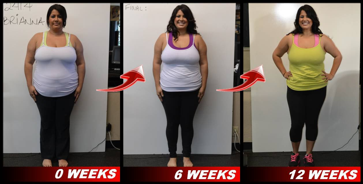 Brianna's San Jose Boot Camp weight loss results